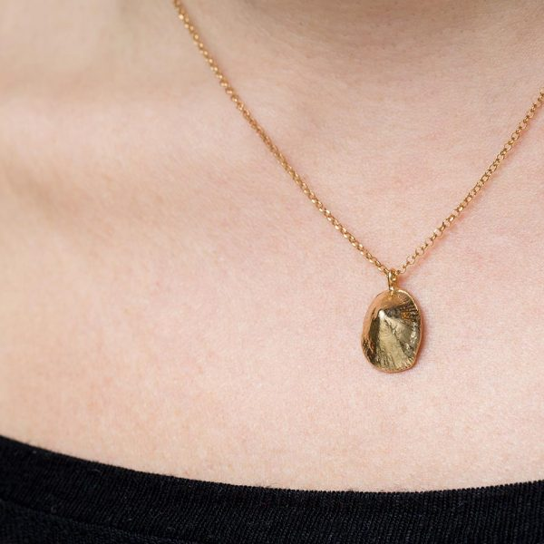 limpet shell pendant neck