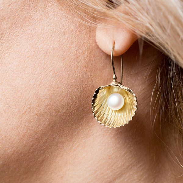 Big cockle clam shell pearl ear