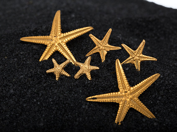 gold Starfish collection