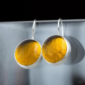 amber pastilles earrings
