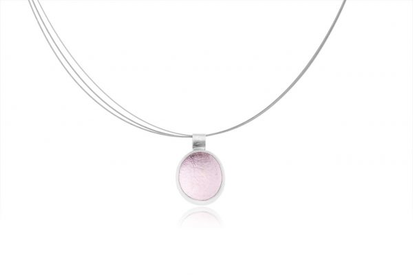 light rose pink pastille pendant