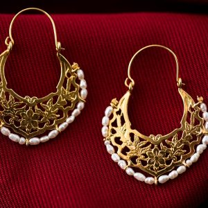 byzantine hoops earrings