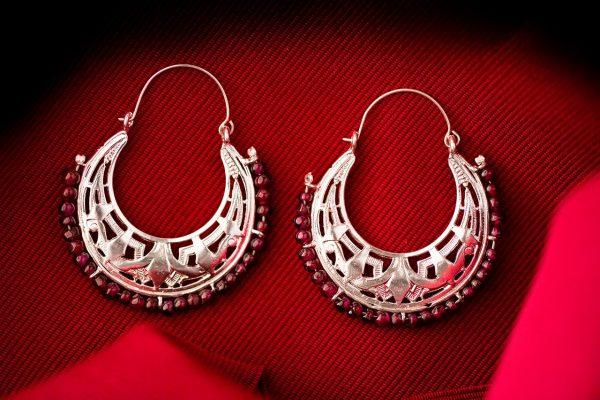 big statement earrings